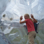 Soccer Zorb / airbag ball