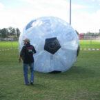 soccer zorbing powerball mieten