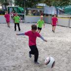 Soccer Court auf Sand mieten