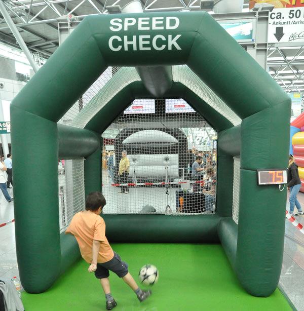 speed check ballradaranlage mieten