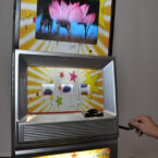 Spielautomat Mit Branding Logo Anbringung