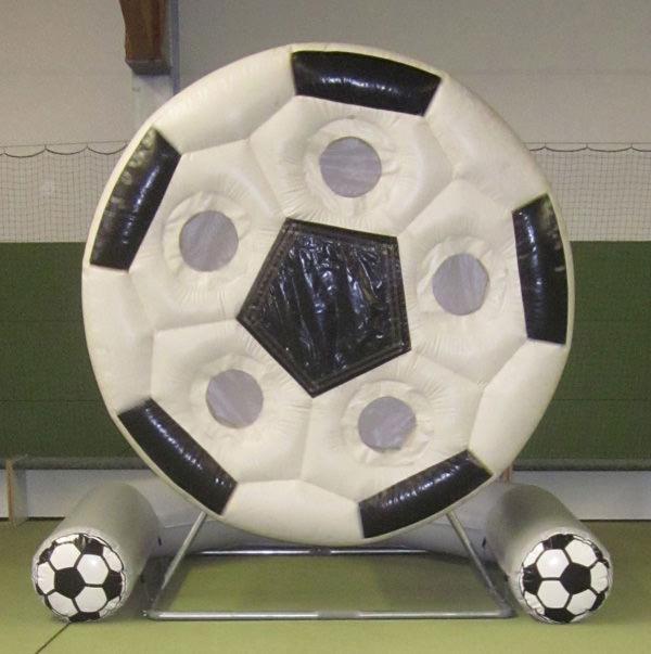 spinning ball drehende torwand aufblasbar