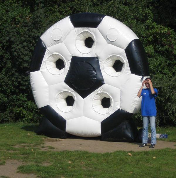 spinning ball Torwand mieten