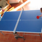 tischtennis platte mieten