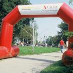Torbogen Marathonlauf Mieten