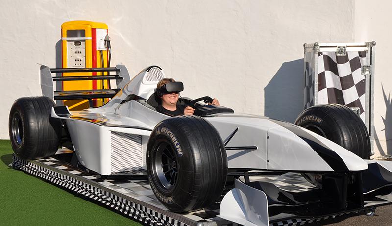 VR-Rennsimulator mieten