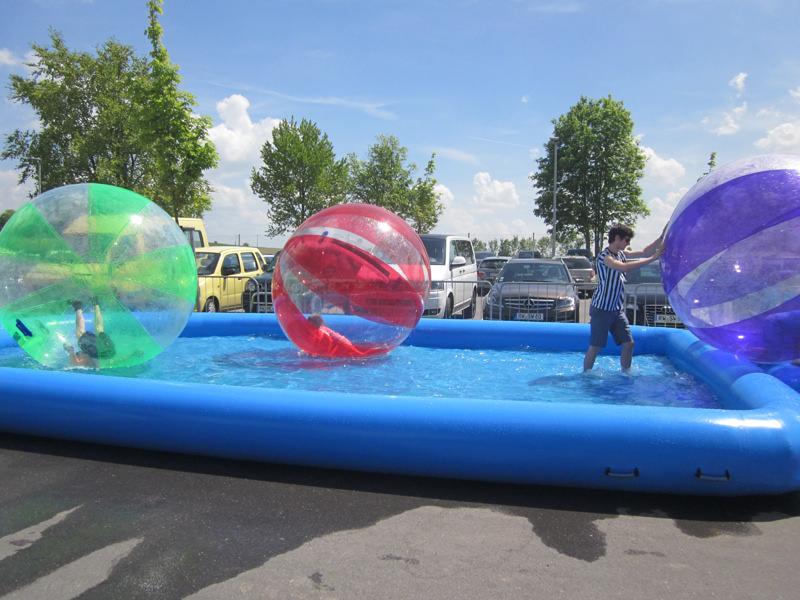Wasserlaufball mieten