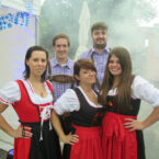 Xtreme-Team im Wiesn-Dress