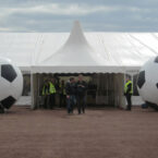 xxl fussball air display mieten