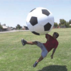 1m xxl fussball spielen