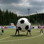 2 Meter XXL Fusball mieten