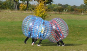 Zorbing Bubble Football